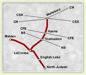 CKIN Route Map