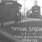 NYC Inspection Train - Cowan, Indiana