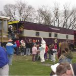 The 2007 Easter train was a big success and very popular for both the museum and the public.