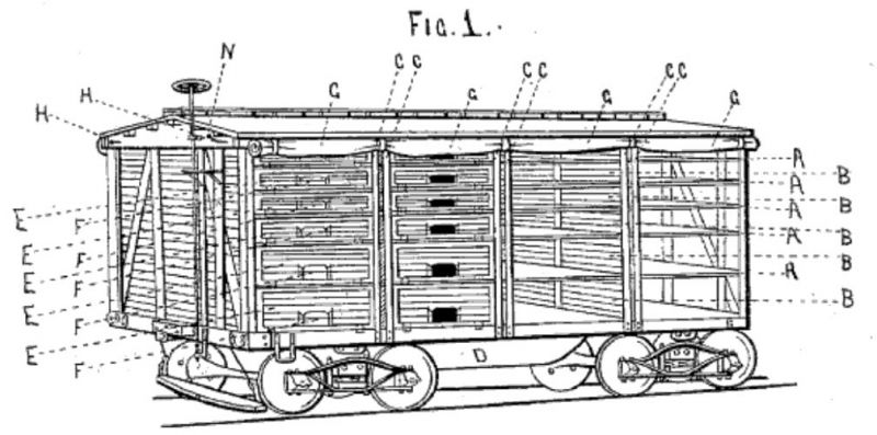 Hoosier Valley Railroad Museum :: Live Poultry Cars