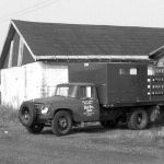 Now that I've made the boat fans happy, let's give the truck fans something. Back about 1962 this International truck was used by the Nickel Plate's maintenance of way forces at Argos, Indiana. I think the welder used this truck.  Photo is by Bob Albert
