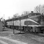 NKP Train No. 8 - Knox, Indiana